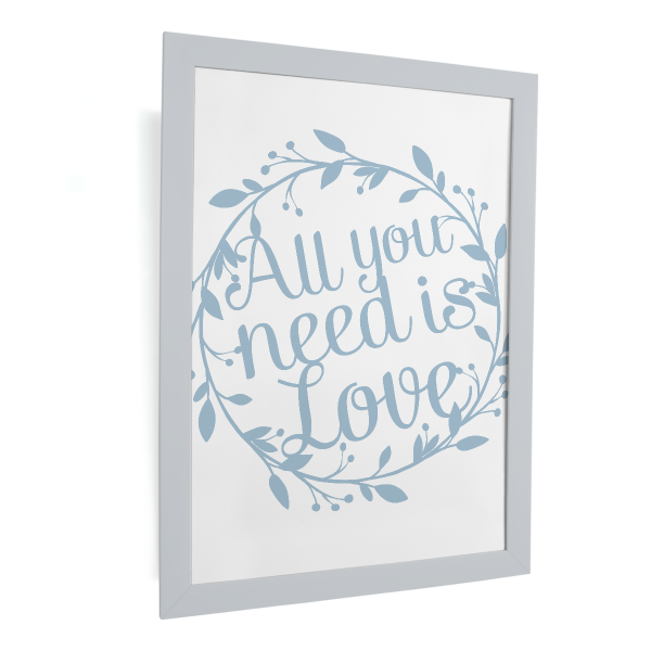 happy serendipity design, plotterdatei, svg file, quote, all you need is love, wreath, kranz, dekoration,