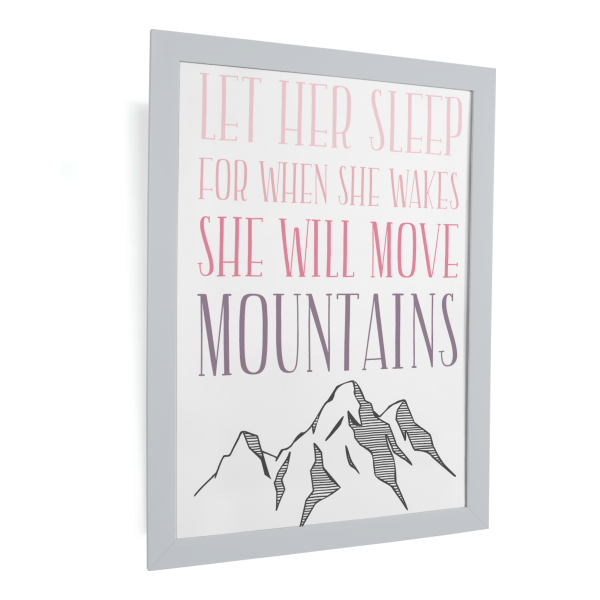 happy serendipity design, plotterdatei, svg file, quote, let her sleep, kinder, kinderzimmer, mädchen